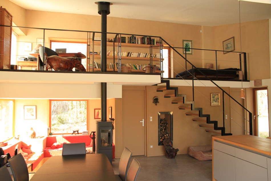 Interieur maison ossature bois cette ossature bois - Interieur maison ossature bois ...